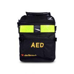 Zwarte AED draagtas Defibtech Lifeline View AED