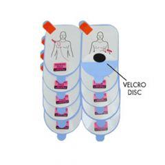 Vervangingsplakkers trainingselektroden Defibtech