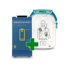 Philpis Heartstart combi pakket met batterij en elektroden