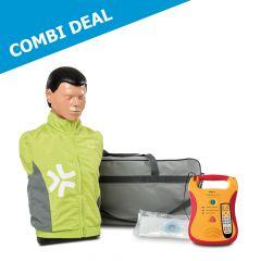 Pakketaanbieding Ambu Man Basic en Defibtech Lifeline trainer AED