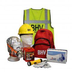 BHV rugtas met uitrusting