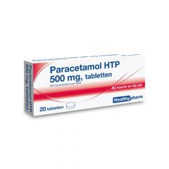 paracetamol 20 stuks 500 mg