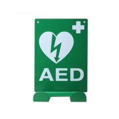 Universele AED wandbeugel met ILCOR logo