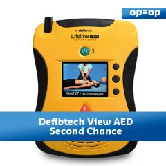 Defibtech View AED Second chance