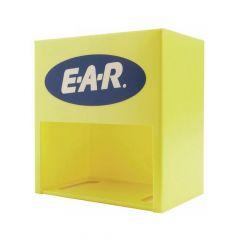 Gele kunststof wandhouder voor EAR classic oordopjes