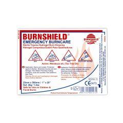 Burnshield brandwondenkompres 20 x 20cm