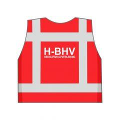Rood H-BHV hesje achterkant