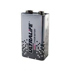 9 volt lithium batterij
