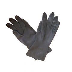 Zwarte neopreen handschoenen