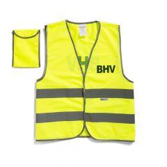 BHV veiligheidsvest in tasje, bedrukt