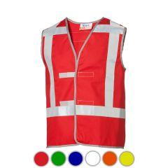 Rood vlamvertragend proban vest
