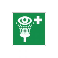 Pictogram sticker oogdouche