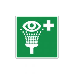 Pictogrambordje oogdouche